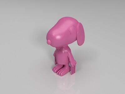 史努比-3d打印模型