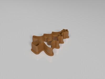 圣诞 饼干模型