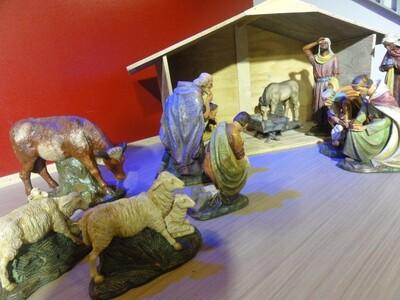 耶稣诞生的场景