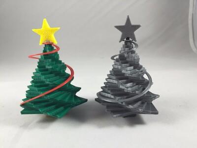 螺旋形圣诞树