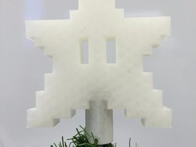 圣诞树上的大星星