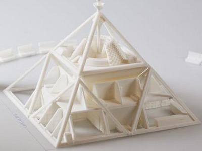 火星金字塔-3d打印模型