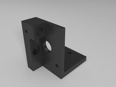 减速步进挤出机-3d打印模型