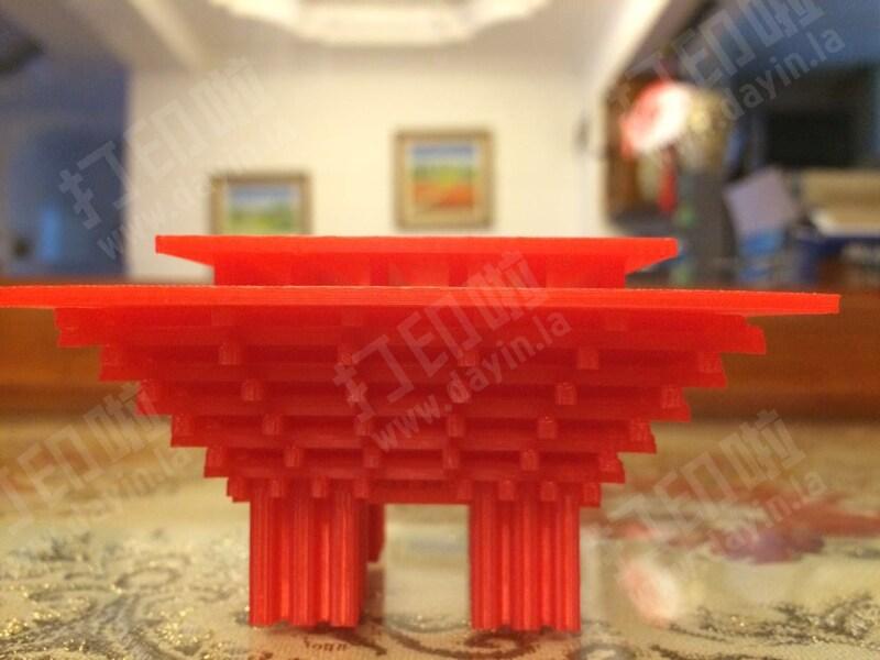 中国馆-3d打印模型