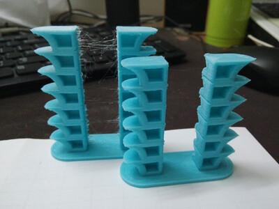 温度测试双塔-3d打印模型
