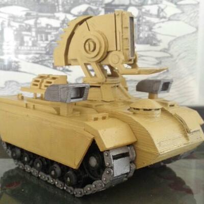 光棱坦克-3d打印模型