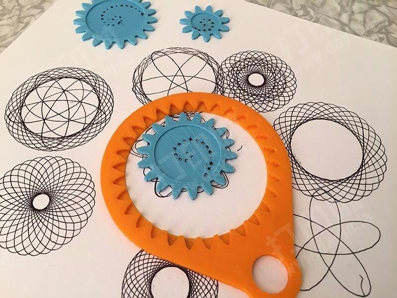 齿轮绘画-3d打印模型
