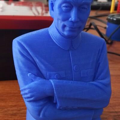 周恩来周总理-3d打印模型