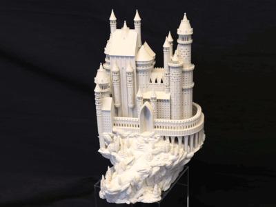 整模 城堡-3d打印模型