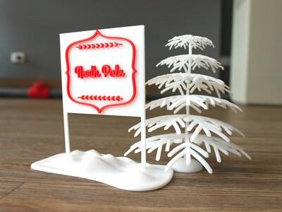 北极圣诞树