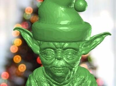 尤达圣诞老人
