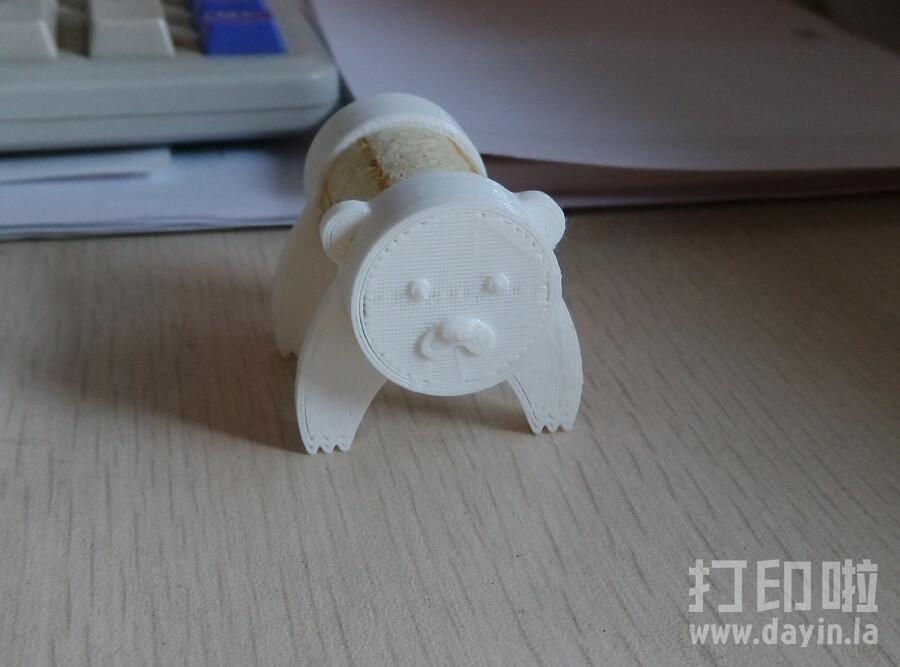 软木小熊-3d打印模型