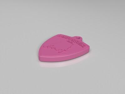 兰博吊坠-3d打印模型