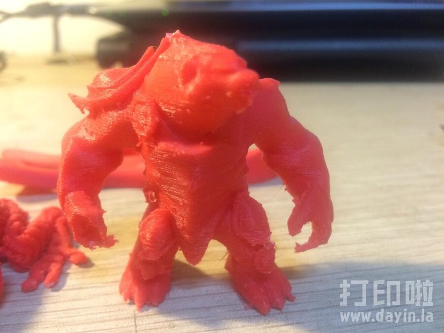 细化雷霆咆哮-3d打印模型