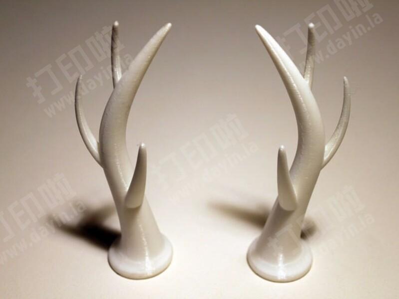 可穿戴的驯鹿的鹿角-3d打印模型