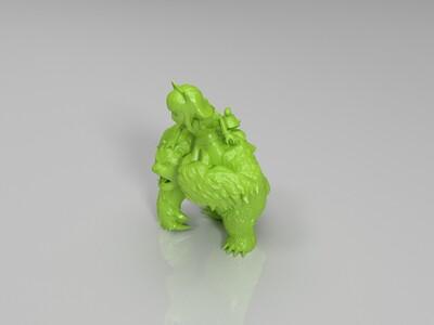 安妮-3d打印模型