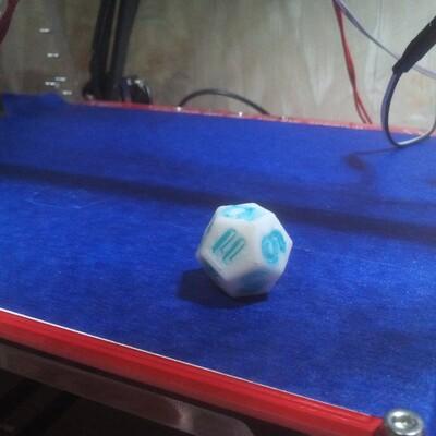 12面骰子-3d打印模型