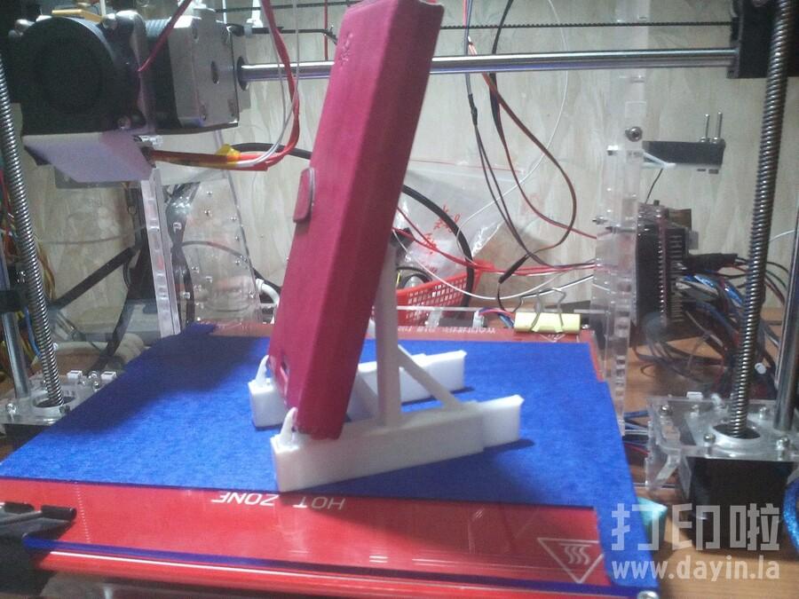 手机竖屏支架-3d打印模型