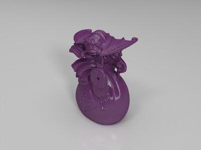 蝙蝠钱袋 福袋-3d打印模型