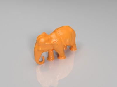 泰国大象 福相 福象-3d打印模型