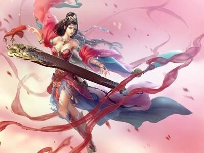 细化琴瑟仙女