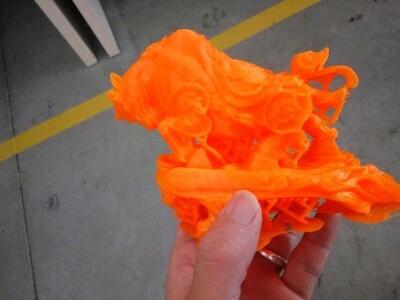 牛气冲天-3d打印模型