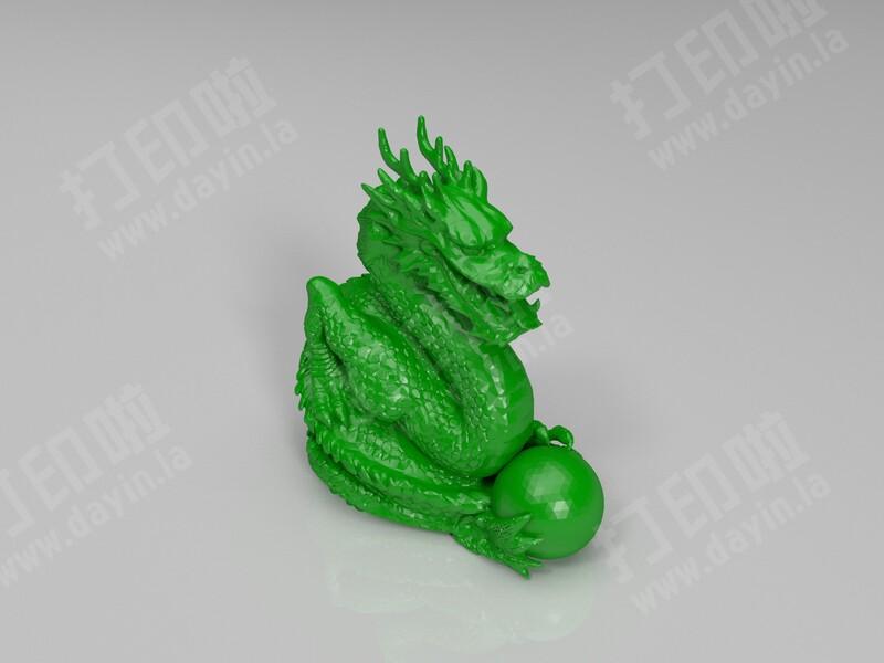 龙 龙像-3d打印模型