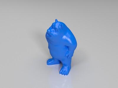 熊出没-3d打印模型