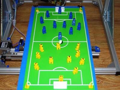 桌面足球队-3d打印模型