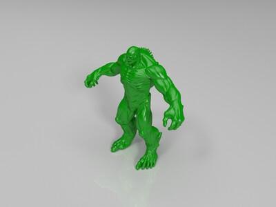 浩克-绿巨人-3d打印模型