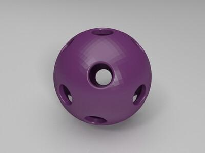 空心球-3d打印模型