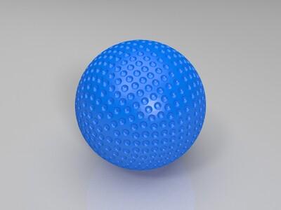 高尔夫球-3d打印模型