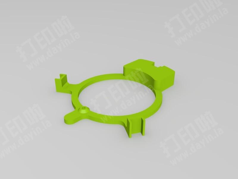 3D打印陀飞轮钟表-3d打印模型