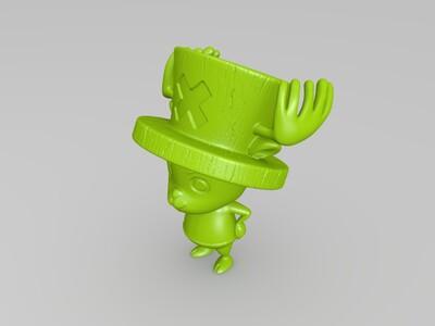 海贼王-乔巴-3d打印模型