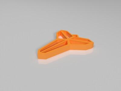 科比标志吊坠-3d打印模型