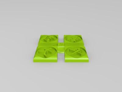 祝福年-3d打印模型