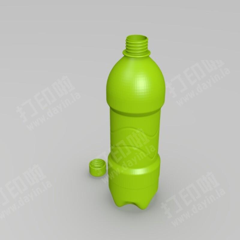 矿泉水瓶stl下载 - 3d打印模型 - 打印啦图片