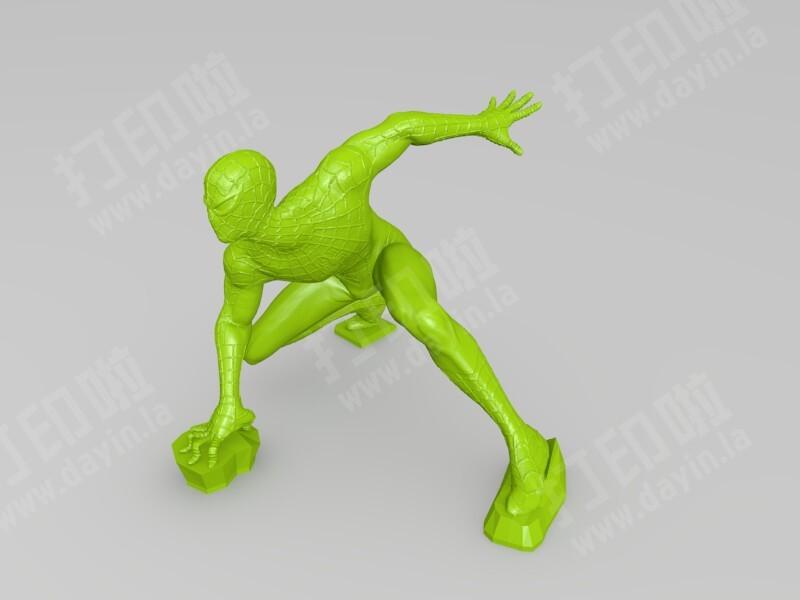 蜘蛛侠-3d打印模型