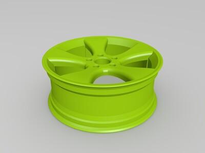 轮圈-3d打印模型