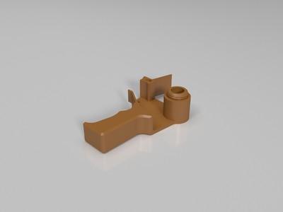 迷你磁带枪-3d打印模型