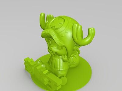 乔巴 (加字)-3d打印模型