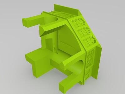 福克斯剧院-3d打印模型