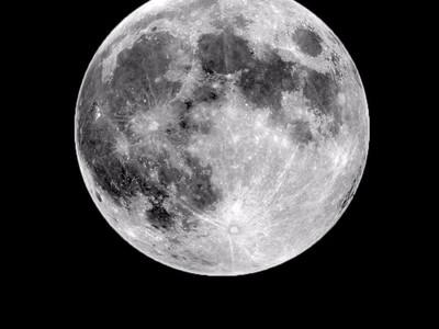月球浮雕灯-3d打印模型