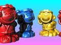 愛說笑的猴王悟空-存钱筒-3d打印模型