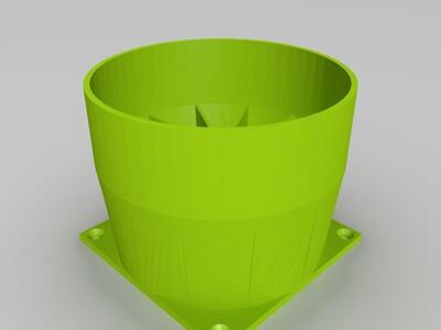 咖啡烘焙冷卻器-3d打印模型