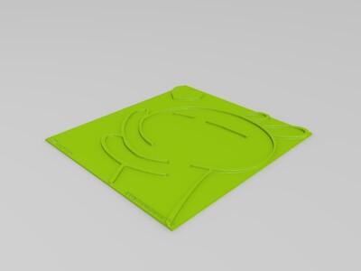 兔斯基-3d打印模型