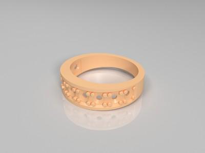 3D打印戒指模型-3d打印模型