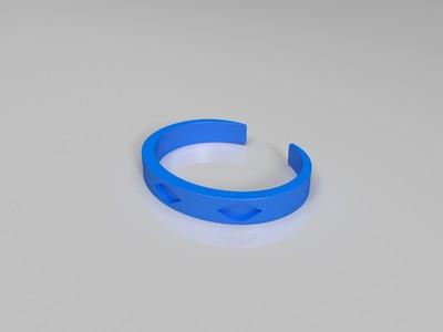 手镯-03-3d打印模型