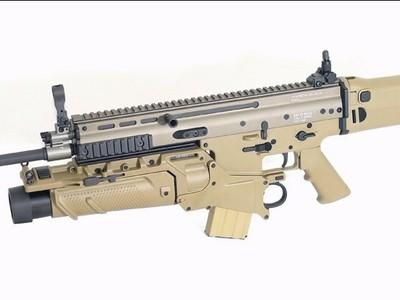 SCAR突击步枪-3d打印模型