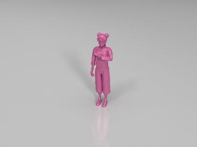 火影忍者-天天-3d打印模型